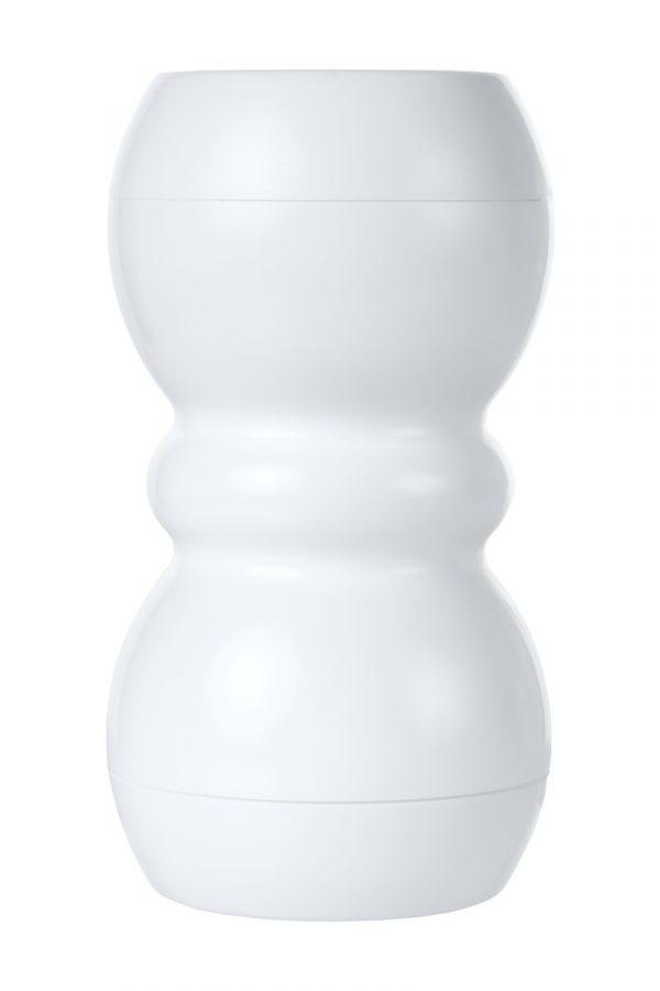 Мастурбатор нереалистичный, Smart Doubble, MensMax, TPE, желтый, 14,5 см, Категория - Секс-игрушки/Мастурбаторы/Нереалистичные мастурбаторы, Атрикул 0T-00011688 Изображение 3