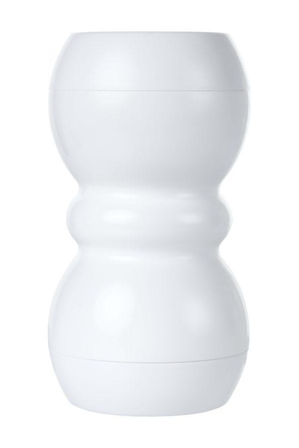 Мастурбатор нереалистичный, Smart, MensMax, TPE, белый, 14,5 см, Категория - Секс-игрушки/Мастурбаторы/Нереалистичные мастурбаторы, Атрикул 0T-00011694 Изображение 3