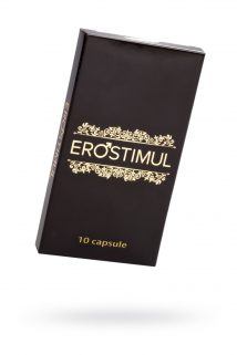 Капсулы EroSTIMUL  для мужчин 10 капсул, Категория - БАДы/БАДы для мужчин, Атрикул 0T-00012213 Изображение 1