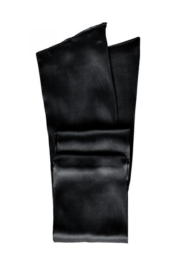 Лента для связывания TOYFA Theatre,чёрная, Категория - БДСМ, фетиш/Фиксация и бондаж/Веревки, ленты для бондажа, Атрикул 0T-00012111 Изображение 3