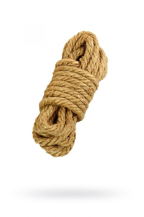 Джутовая веревка, 5 м, Категория - БДСМ, фетиш/Фиксация и бондаж/Веревки, ленты для бондажа, Атрикул 0T-00012101 Изображение 3