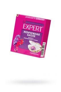 Презервативы Expert ''Жемчужное капля'' №3, розовые с перламутровыми точками, 3шт, Категория - Презервативы/Рельефные и фантазийные презервативы, Атрикул 0T-00011628 Изображение 1