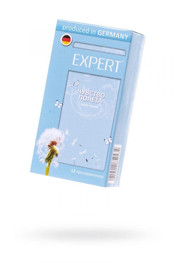 Презервативы Expert ''Чувство полета'' №12, супер тонкие, 12шт, Категория - Презервативы/Классические презервативы, Атрикул 0T-00011626 Изображение 1