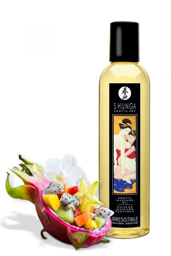 Массажное масло Shunga Asian Fusion, возбуждающее, натуральное, 250 мл, Категория - Интимная косметика/Средства для массажа/Гели и масла, Атрикул 0T-00012502 Изображение 2