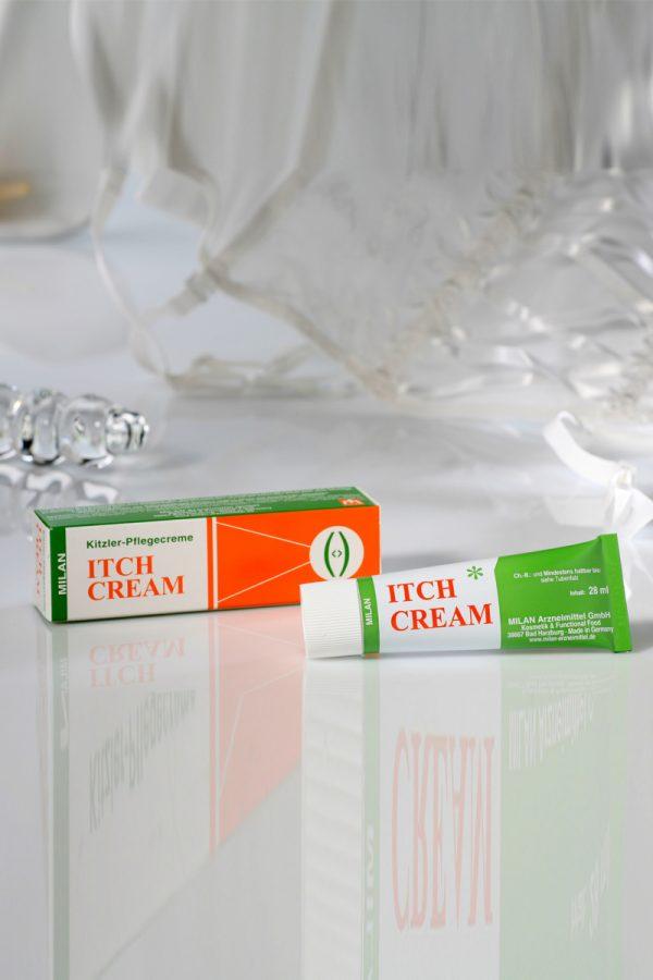 Крем возбуждающий Milan Itch Cream для женщин, 28 мл, Категория - Интимная косметика/Кремы для стимуляции и коррекции размеров/Кремы возбуждающие, Атрикул 00000079 Изображение 2