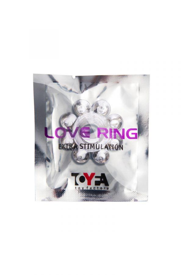 Эрекционное кольцо на пенис TOYFA, TPE, прозрачный, Категория - Секс-игрушки/Кольца и насадки/Кольца на пенис, Атрикул 00138542 Изображение 2