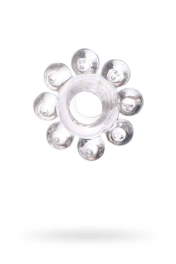 Эрекционное кольцо на пенис TOYFA, TPE, прозрачный, Категория - Секс-игрушки/Кольца и насадки/Кольца на пенис, Атрикул 00138542 Изображение 1