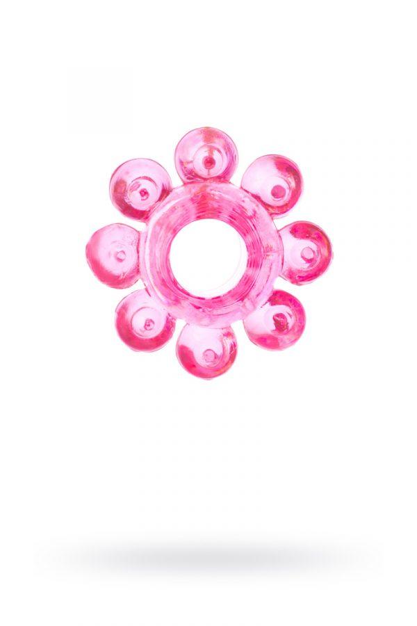 Эрекционное кольцо на пенис TOYFA  , TPE, Розовый, Категория - Секс-игрушки/Кольца и насадки/Кольца на пенис, Атрикул 00138539 Изображение 1