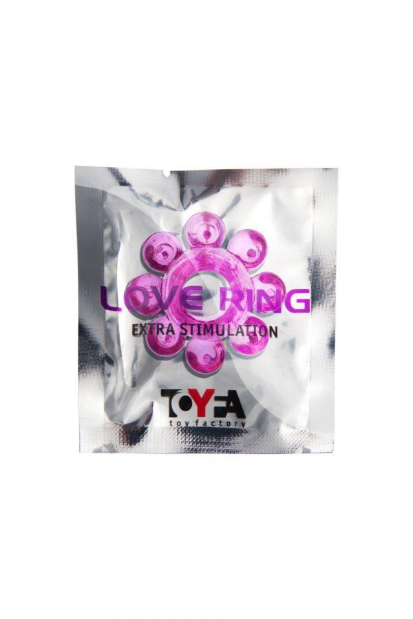 Эрекционное кольцо на пенис TOYFA  , TPE, Розовый, Категория - Секс-игрушки/Кольца и насадки/Кольца на пенис, Атрикул 00138539 Изображение 2