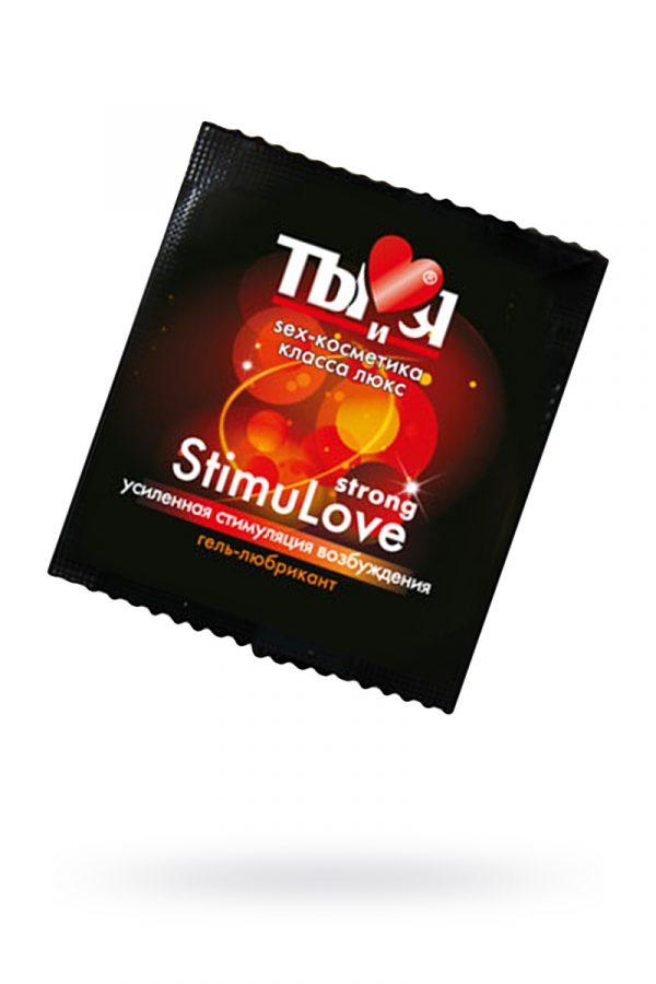 Гель-любрикант StimuLove strong, стимулирующий, 4 г, 20 шт. в упаковке, Категория - Гели, смазки и лубриканты/Гели и смазки для вагинального секса, Атрикул 0T-00000672 Изображение 1