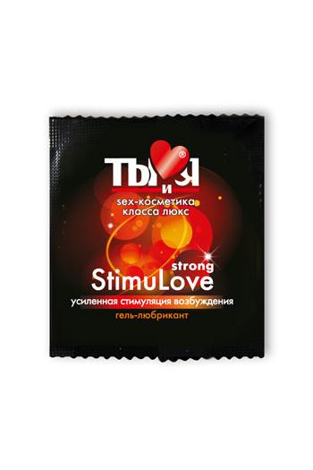 Гель-любрикант StimuLove strong, стимулирующий, 4 г, 20 шт. в упаковке, Категория - Гели, смазки и лубриканты/Гели и смазки для вагинального секса, Атрикул 0T-00000672 Изображение 2