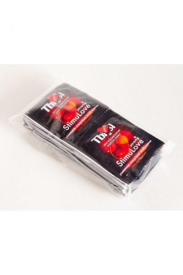 Гель-любрикант StimuLove strong, стимулирующий, 4 г, 20 шт. в упаковке, Категория - Гели, смазки и лубриканты/Гели и смазки для вагинального секса, Атрикул 0T-00000672 Изображение 3