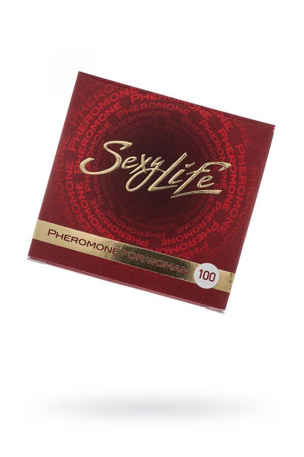 Феромон Sexy Life концентрат 100% женские, 5 мл, Категория - Интимная косметика/Косметика с феромонами/Концентраты феромонов, Атрикул 00136050 Изображение 1