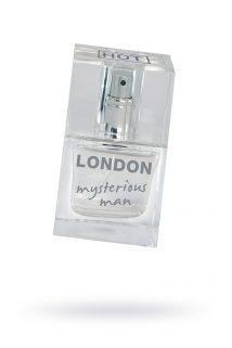 Духи для мужчин London Mysterious 30мл, Категория - Интимная косметика/Косметика с феромонами/Духи с феромонами, Атрикул 0T-00006018 Изображение 1
