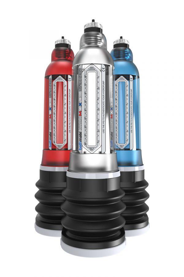 Гидропомпа Bathmate Hydromax X30, голубая, 30 см, Категория - Секс-игрушки/Помпы/Помпы для пениса, Атрикул 0T-00007089 Изображение 3