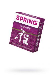 Презервативы Spring Aromantic, с гладкой поверхностью, ароматизированные, латекс, 3 шт, Категория - Презервативы/Классические презервативы, Атрикул 0T-00007136 Изображение 1