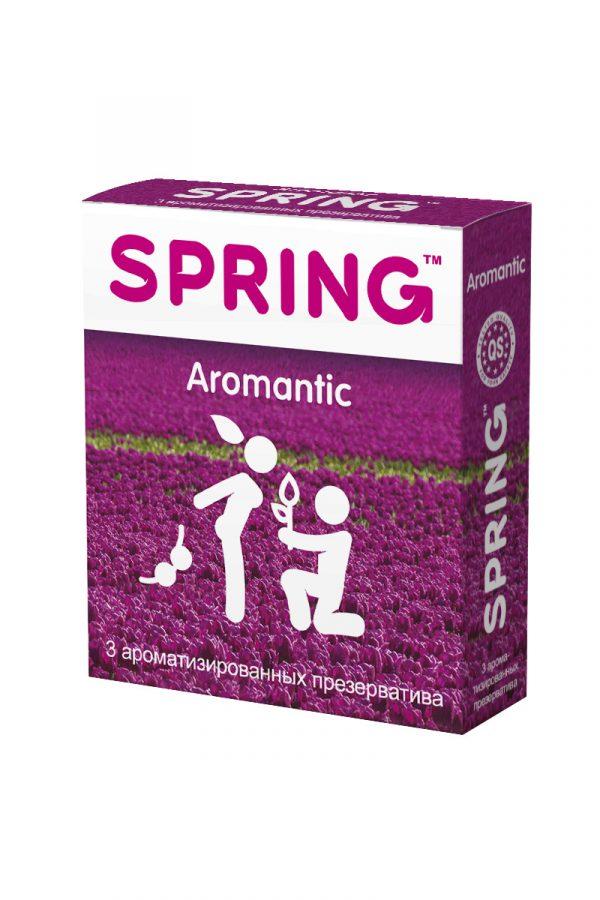 Презервативы Spring Aromantic, с гладкой поверхностью, ароматизированные, латекс, 3 шт, Категория - Презервативы/Классические презервативы, Атрикул 0T-00007136 Изображение 2