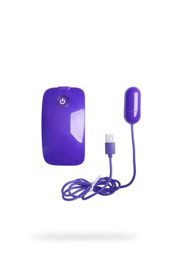 Виброяйцо NMC с пультом управления, супермощное, 10 режимов вибрации, фиолетовое, 5 см, Категория - Секс-игрушки/Вибраторы/Виброяйца, Атрикул 0T-00007175 Изображение 2