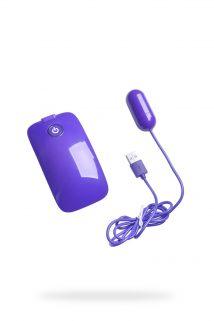 Виброяйцо NMC с пультом управления, супермощное, 10 режимов вибрации, фиолетовое, 5 см, Категория - Секс-игрушки/Вибраторы/Виброяйца, Атрикул 0T-00007175 Изображение 1
