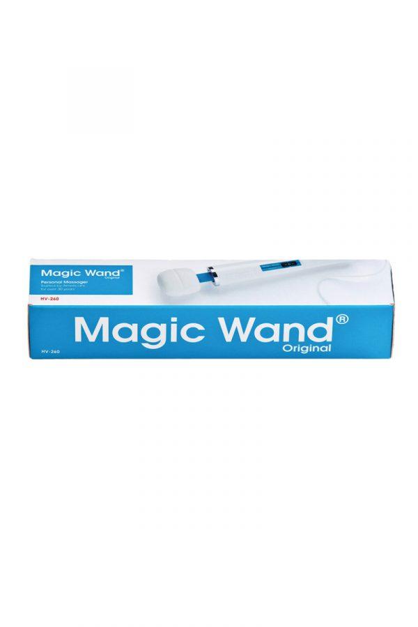 Вибромассажер  Magic Wand Original HV-260, Hitachi, силикон, белый, 36 см, Категория - Секс-игрушки/Стимуляторы клитора и наружных интимных зон/Вибромассажеры клитора и наружных интимных зон, Атрикул 0T-00007250 Изображение 3