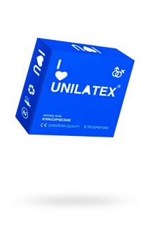 Презервативы Unilatex Natural Plain №3  гладкие классические, Категория - Презервативы/Классические презервативы, Атрикул 0T-00007255 Изображение 1