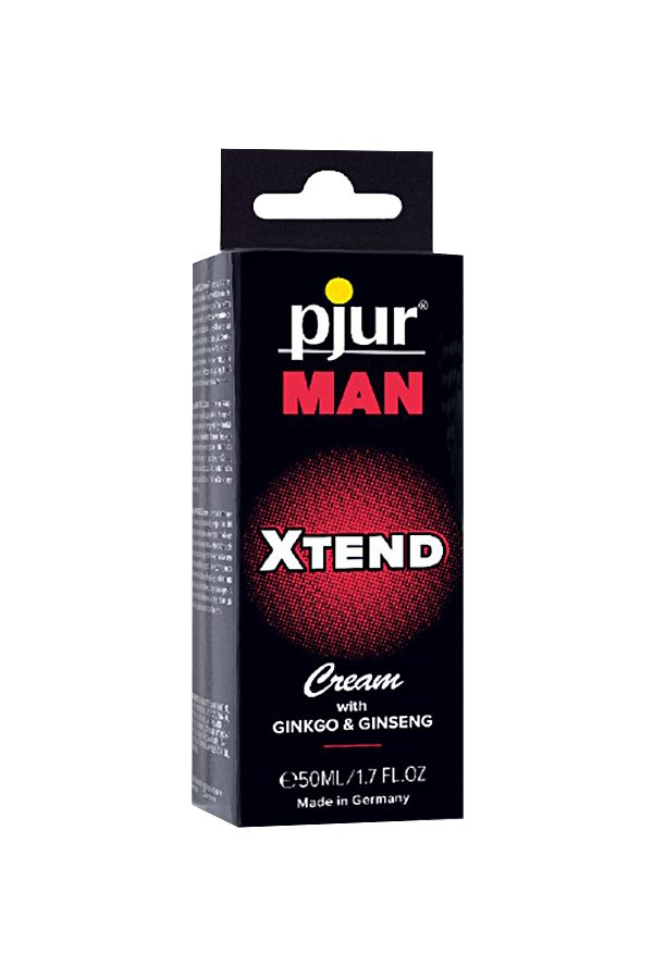 Мужской крем для пениса Pjur MAN Xtend Cream 50 ml, Категория - Интимная косметика/Кремы для стимуляции и коррекции размеров/Кремы возбуждающие, Атрикул 0T-00008678 Изображение 2