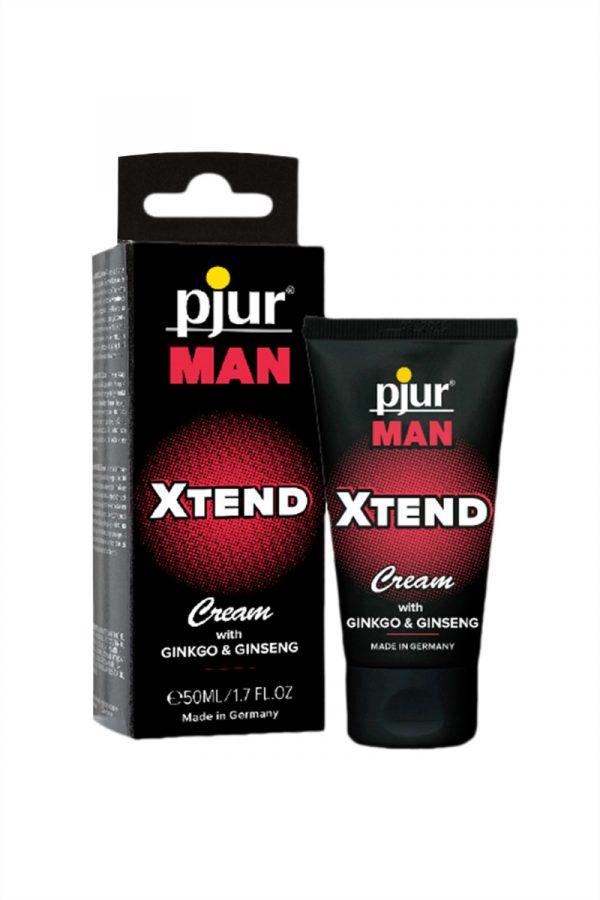Мужской крем для пениса Pjur MAN Xtend Cream 50 ml, Категория - Интимная косметика/Кремы для стимуляции и коррекции размеров/Кремы возбуждающие, Атрикул 0T-00008678 Изображение 3
