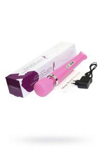 Вибромассажер, Magic Wand ,беспроводной, силикон, розовый, 32 см, Категория - Секс-игрушки/Стимуляторы клитора и наружных интимных зон/Вибромассажеры клитора и наружных интимных зон, Атрикул 0T-00008730 Изображение 1