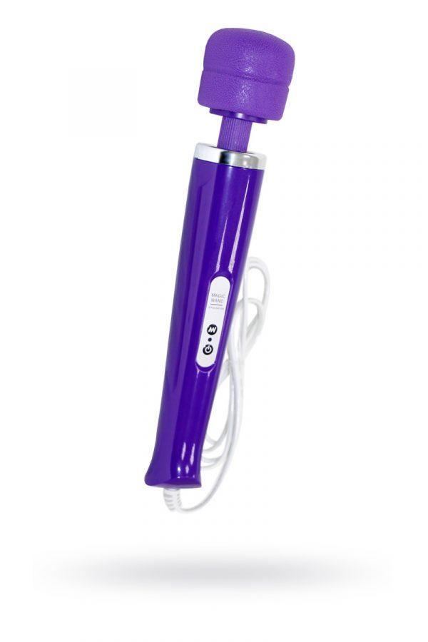 Вибромассажер, Magic Wand ,проводной,силикон, фиолетовый, 31 см, Категория - Секс-игрушки/Стимуляторы клитора и наружных интимных зон/Вибромассажеры клитора и наружных интимных зон, Атрикул 0T-00008732 Изображение 1