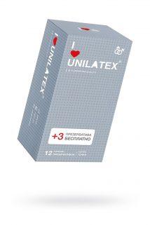 Презервативы Unilatex Dotted №12 с точками, Категория - Презервативы/Рельефные и фантазийные презервативы, Атрикул 0T-00009299 Изображение 1
