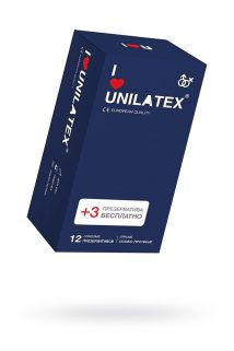 Презервативы Unilatex Extra Strong гладкие №12, Категория - Презервативы/Классические презервативы, Атрикул 0T-00009301 Изображение 1