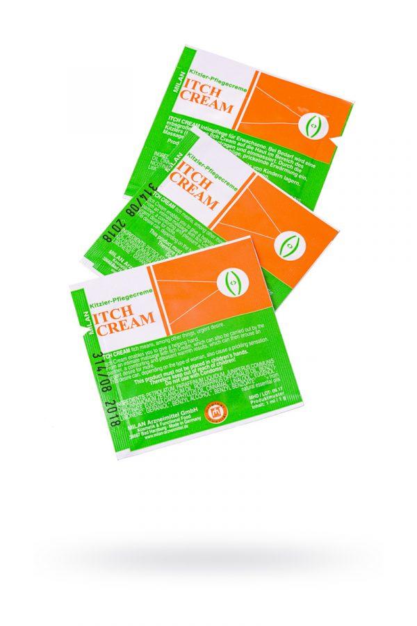 Крем возбуждающий Milan Itch Cream для женщин, саше10 шт, Категория - Интимная косметика/Кремы для стимуляции и коррекции размеров/Кремы возбуждающие, Атрикул 0T-00010652 Изображение 1