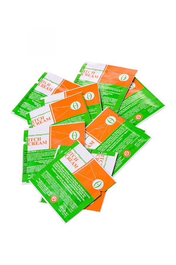 Крем возбуждающий Milan Itch Cream для женщин, саше10 шт, Категория - Интимная косметика/Кремы для стимуляции и коррекции размеров/Кремы возбуждающие, Атрикул 0T-00010652 Изображение 2
