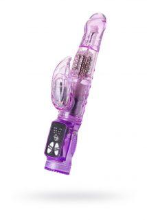 Вибратор с клиторальным стимулятором TOYFA A-Toys  High-Tech fantasy , TPE, Фиолетовый, 22 см, Категория - Секс-игрушки/Вибраторы/Вибраторы с клиторальным стимулятором, Атрикул 0T-00009912 Изображение 1