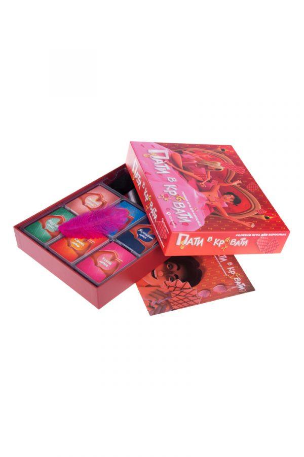 Игра настольная ''Пати в кровати '', Категория - Подарки и игры/Эротические подарки, игры и сувениры, Атрикул 0T-00012340 Изображение 3