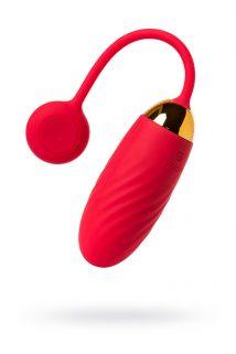 Виброяйцо Svakom Ella, пульт, приложение , красный, Категория - Секс-игрушки/Вибраторы/Виброяйца, Атрикул 0T-00012562 Изображение 1