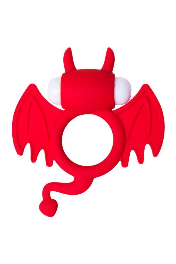 Эрекционное кольцо на пенис JOS SWEET DEVIL, силикон, красный, 8,5 см, Категория - Секс-игрушки/Кольца и насадки/Кольца на пенис, Атрикул 0T-00011829 Изображение 2