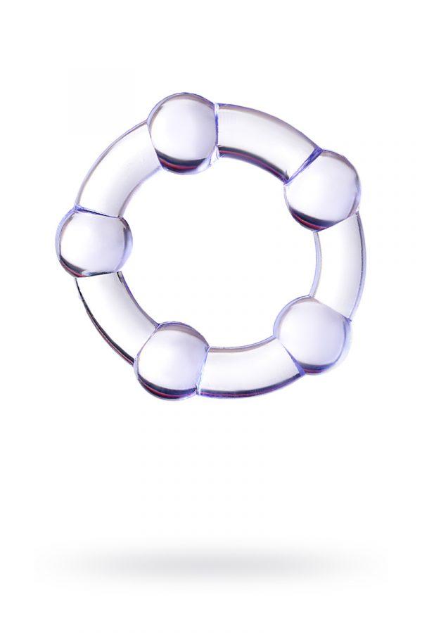 Эрекционное кольцо на пенис Штучки-дрючки  , TPR, Фиолетовое, Ø2,5 см, Категория - Секс-игрушки/Кольца и насадки/Кольца на пенис, Атрикул 0T-00012471 Изображение 1