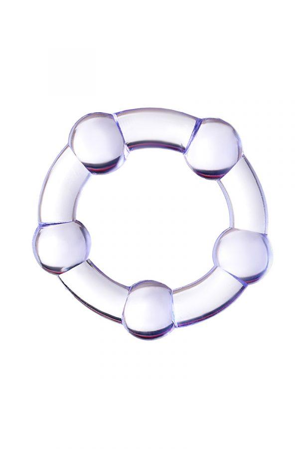 Эрекционное кольцо на пенис Штучки-дрючки  , TPR, Фиолетовое, Ø2,5 см, Категория - Секс-игрушки/Кольца и насадки/Кольца на пенис, Атрикул 0T-00012471 Изображение 2