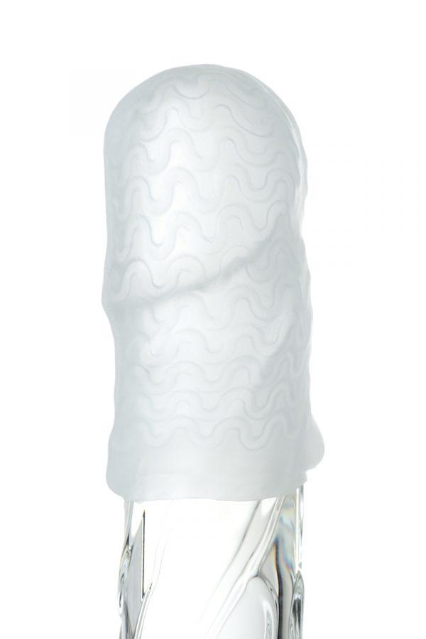 Мастурбатор TOYFA A-Toys Pocket Wavy, TPR, белый, 7,8 см (растягивается до 30 см), Категория - Секс-игрушки/Мастурбаторы/Нереалистичные мастурбаторы, Атрикул 0T-00012879 Изображение 2