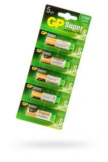 Батарейки типа АА GP LR6  упаковка 5 шт, Категория - Секс-игрушки/Элементы питания и зарядные устройства/Элементы питания, Атрикул 0T-00013229 Изображение 1
