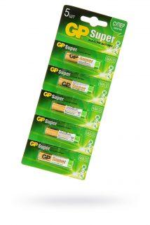 Батарейки типа ААА GP LR03  упаковка 5 шт, Категория - Секс-игрушки/Элементы питания и зарядные устройства/Элементы питания, Атрикул 0T-00013230 Изображение 1