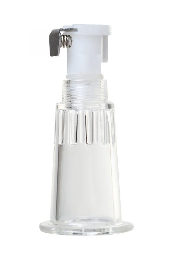 Помпа для сосков SAIZ Basic, силикон+ABS пластик, чёрный, 69 см, Категория - Секс-игрушки/Помпы/Помпы для груди, Атрикул 0T-00013069 Изображение 2