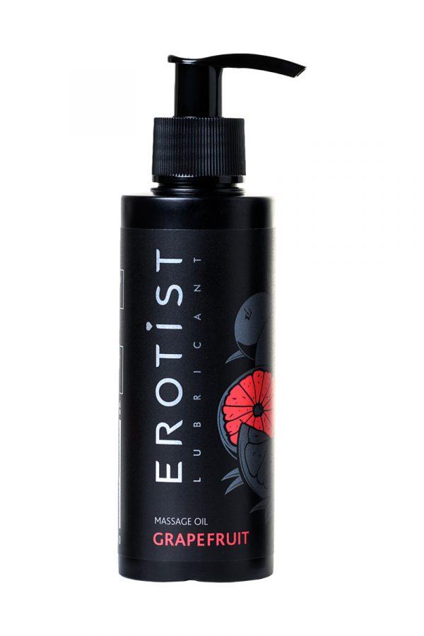 Массажное масло Erotist  GRAPEFRUIT, Грейпфрут 150 мл, Категория - Интимная косметика/Средства для массажа/Гели и масла, Атрикул 0T-00013272 Изображение 2