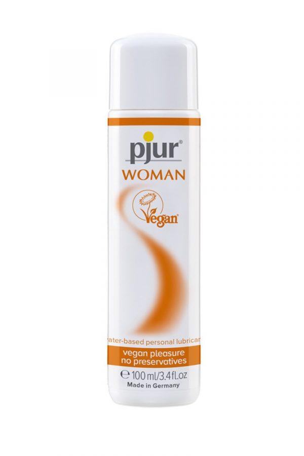 Лубрикант для вагинального секса Pjur Woman Vegan 100 мл, Категория - Гели, смазки и лубриканты/Гели и смазки для вагинального секса, Атрикул 0T-00013278 Изображение 2