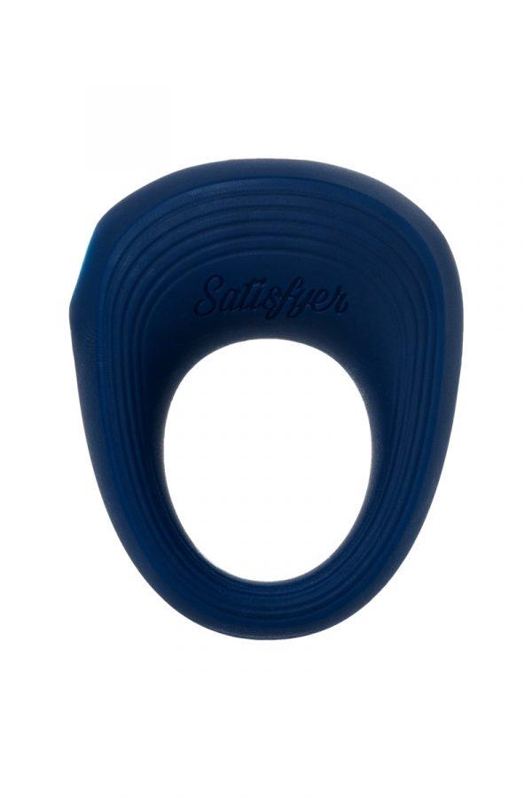 Эрекционное кольцо на пенис Satisfyer Rings, силикон, синий 5,5 см., Категория - Секс-игрушки/Кольца и насадки/Кольца на пенис, Атрикул 0T-00013119 Изображение 2