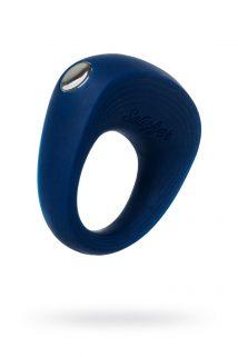 Эрекционное кольцо на пенис Satisfyer Rings, силикон, синий 5,5 см., Категория - Секс-игрушки/Кольца и насадки/Кольца на пенис, Атрикул 0T-00013119 Изображение 1