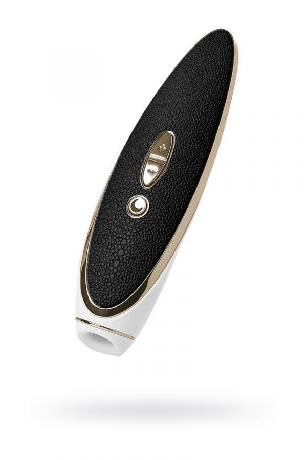 Вибратор Satisfyer Luxury Haute couture, с вакуум-волновым бесконтактным стимулятором, силикон, черный, 22см, Категория - Секс-игрушки/Стимуляторы клитора и наружных интимных зон/Вакуумные стимуляторы клитора, Атрикул 0T-00013247 Изображение 1