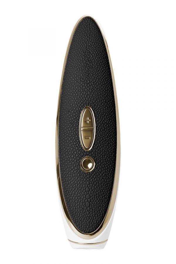 Вибратор Satisfyer Luxury Haute couture, с вакуум-волновым бесконтактным стимулятором, силикон, черный, 22см, Категория - Секс-игрушки/Стимуляторы клитора и наружных интимных зон/Вакуумные стимуляторы клитора, Атрикул 0T-00013247 Изображение 3