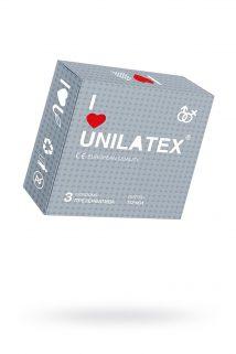 Презервативы Unilatex Dotted №3 с точками, Категория - Презервативы/Рельефные и фантазийные презервативы, Атрикул 0T-00009300 Изображение 1